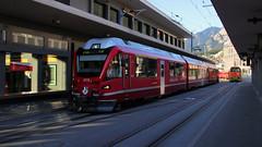 3510 (Krzysztof D.) Tags: szwajcaria schweiz suisse svizzera svizra dworzec station stacja bahnhof pociąg train zug kolej bahn railway chur graubünden gryzonia grisons electric elektryczny