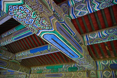 2018 Beijing - Tian Tan 02 (C & R Driver-Burgess) Tags: tiantan temple heaven beijing painted wood patterns elaborate crowds tourist people walking ancient historical china monument
