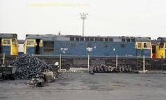 Falkland Yard 27012 12july86 a330 (Ernies Railway Archive) Tags: ayr falklandyard gswr lms scotrail