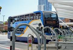 15989 YN64XST (PD3.) Tags: bus buses psv pcv hampshire hants england uk portsmouth 15989 scania enviro stagecoach interchange station hard gunwharf quays coastliner 700 yn64xst yn64 xst