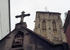 Bristol Holy Cross Church (lharris35mm) Tags: church cross holy bristol 35mm colour film kodak kodakcolourplus200 analogue slr analog nikon nikonfg20