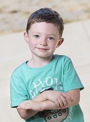 Ryker - Preschool (HansenPrime) Tags: boy son kid child children portrait portraits headshot smile pose