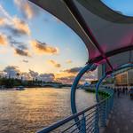 Busy Riverwalk Sunset thumbnail