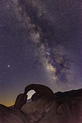 Mobius Arch Milky Way (Bob Nastasi) Tags: mobiusarch milkyway stars lonepine alabamahills california d800e bobnastasi