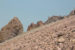 A world of rock (rozoneill) Tags: lassen volcanic national park peak hiking california volcano