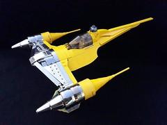 Naboo N1 Starfighter (tomvanhaelen) Tags: lego starwars naboo n1 starfighter custom moc inthert theed