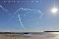 0863 Centenary Split (photozone72) Tags: jersey airshows aircraft airshow aviation canon 7d centenarysplit canon80d 80d 1018mm canon1018mm raf rafat redarrows reds redwhiteblue