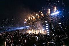 Audience celebration concert - Credit to https://homegets.com/ (davidstewartgets) Tags: audience celebration concert crowd entertainment event festival fireworks flame music party people performance show