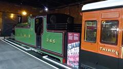 LSWR - 245, M7 Class, 0-4-4 passenger tank locomotive @ National Railway Museum, York (bertie's world) Tags: national railway museum york trains lswr 245 m7 class 044 passenger tank locomotive