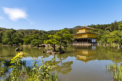 Kinkakuji Temple, Kyoto Japan (Myself more than Synghan) Tags: kinkakuji temple kinkakujitemple japan japanese kyoto reflection travel destination attraction famousplace golden pond hotspot trip tourism tranquility peace photography horizontal outdoor colourimage fragility freshness nopeople foregroundfocus adjustment landmark autumn fall journey rokuonji deergoldentemple buddhist buddhism canon eos80d 80d 1770mm f284 dc macro lens 킨카쿠지 교토 일본 여행 금각사