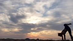 Sunrise (2x speed) (stankayoga) Tags: yoga stankayoga stanka sivananda sivanandayoga londonyogateacher yogateacher advancedyoga advancedasana hathayoga poweryoga dharmayoga yogaflow burgas morning sea beach sunrise