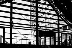 on the edge (ro_ha_becker) Tags: street architecture architektur silhouette monochrome schwarzweiss zwartwit biancoenero blancetnoir blackandwhite blancoynegro fujix20