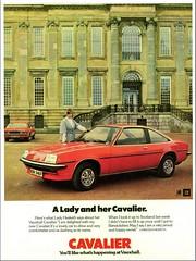 1976 Vauxhall Cavalier Coupe (aldenjewell) Tags: 1976 vauxhall cavalier coupe lady christian hesketh robert fermor lord easton neston ad