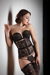 Anastasia in Lace (Pdooma) Tags: anastasia arteyeva lace boudoir stockings lingerie glamour fashion intimate seduction seductive