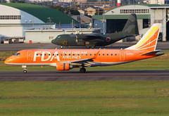 JA05FJ Fuji Dream E170 (twomphotos) Tags: plane spotting nkm rjna komaki evening sunset rwy34 fda fujidream airlines embraer e170 bestofspotting