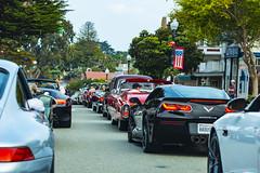 Pacific Grove Car Show  Parade Lineup (Bob Nastasi) Tags: pacificgrove montereypeninsula carshow cars parade california d800e bobnastasi