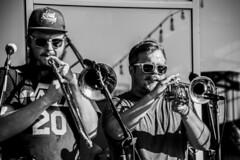 DSC_2083 (GRubio78) Tags: concert live band empirestrikesbrass newbelgium asheville nc 828 nikon d7500 bw brass brewery concierto brassterpiecetheater