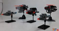 GreyFleet001 (Maranar bricks) Tags: lego mobile frame zero intercept orbit fleet space spaceship ship scifi youtube