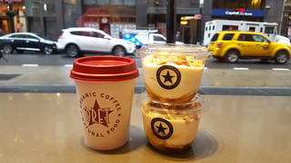 Breakfast at Pret a Manger - Manhattan