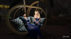 Blue Night 1 (Jem Sternhall) Tags: secondlife fashion formal eveningwear eveninggowns blue outdoors outside akeruka maitreya vistaprohands ikon rezology celestinasweddings kccouture zurirayna laboheme zibska tukinowaguma maddict bootysbeauty eveninggloves blonde blackhair