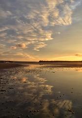 Reflections (Tilney Gardner) Tags: sunset reflection lowtide sandbanks poole dorset nikon