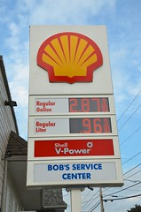 International Gas Prices (Joe Shlabotnik) Tags: 2018 aroostook gasstation august2018 madawaska sign maine shell gasoline afsdxvrzoomnikkor18105mmf3556ged faved