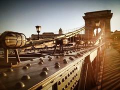 Széchenyi Chain Bridge | Budapest | Hungary (maryduniants) Tags: sunlight europe hungary pest buda budapest bridge chainbridge széchenyi széchenyilanchid