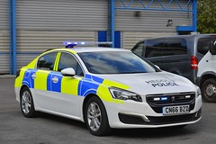 CN66 BZD (S11 AUN) Tags: south wales police heddlu peugeot 508 driver training driving school irv incident response panda car local policing unit 999 emergency vehicle cn66bzd