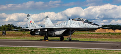 Slovak Air Force MiG-29AS Fulcrum (Ratters1968: Thanks for the Views and Favs:)) Tags: canon7dmk2 martynwraight ratters 1968lossiemouthlossieraf lossiemouth moray scotland airbase airport airfield kleinebrogel belgium bafd belgiumairforcedays airshow display airdisplay belgique belgiumairforce flight flying fleugzeug aeroplane plane aeronautics aircraft avions aviation avioes aeronef transport airplane air jet topgun military war warplane combat combataviation militaryaircraft militaire warbird bomber fighter fastjet mig mikoyan mikoyangurevich mig21as slovak slovakairforce slovakia slovakian
