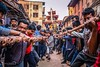 Shatranj-Suwal (ujjal.maharjan) Tags: people jatra festival fun nepal diversity strength vintage culture architecture demigod god tradition mystic values ethnicity newar newari nepali chariot antique ancient significance panchare bisket indra yenya punhi bhairav ganesh bhaktapur kathmandu patan goddess shakti power followers pilgrimage pilgrims streetfestival ritual event