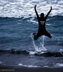 JUMP (BARUN DASH) Tags: jump friend leap speed fast air high fall trail tail water beach bed sand ocean tall dark make