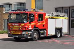 Humberside - YN18XYX - Hull East - WrT (matthewleggott) Tags: humberside fire rescue service engine appliance yn18xyx scania emergency one hull east wrt water tender