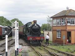 IMG_0344 (JIsaac92) Tags: west somerset railway express 6960 raveningham hall wsr