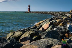 -ThE-fAr-LiGhThOusE- (Tom Zander) Tags: lighthouse lighthouses leuchtturm turm türme stone stones steine stein fels flesen rock rocks küste küsten tom zander tozafoto sony alpha a6000 19mm sigma art seascape seelandschaft landschaft landscape land sky himmel wolke wolken clouds cloud golden blue meer meere ocean sea wave waves welle wellen water wasser horizon horizont