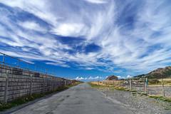 The Long Road (Howie Mudge LRPS BPE1*) Tags: road sky bluesky landscape nature ngc tywyn gwynedd wales cymru uk sony sonya6300 sonyilce6300 sonyalpha sonyalphagang sonylove e18135mmf3556oss