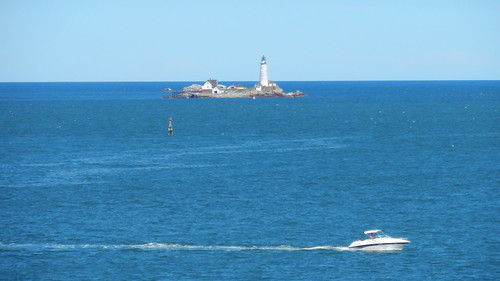 Boston, Little Brewster Island seen from Georges Island [06.08.2013]
