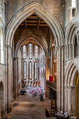 Hexham Abbey (Matthew_Hartley) Tags: hexham abbey church arch northumberland england uk britain sony a7 iii a7iii fullframe 2870 2870mm