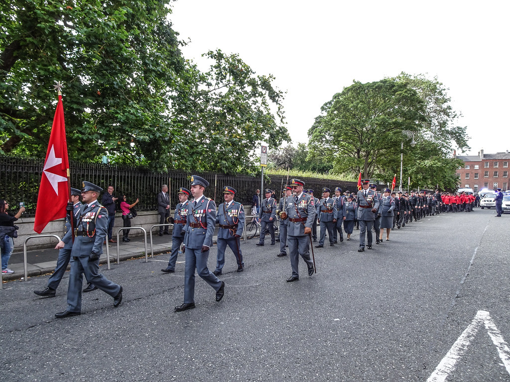 NATIONAL SERVICES DAY [PARADE STARTED OFF FROM NORTH PARNELL SQUARE]-143635