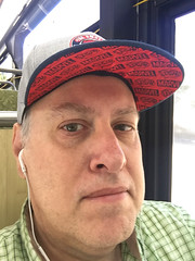 Day 2395: Day 205: On the bus (knoopie) Tags: 2018 july iphone picturemail doug knoop knoopie me selfportrait 365days 365daysyear7 year7 365more day2395 day205