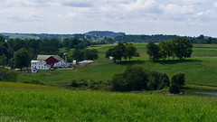 Farm View (ramseybuckeye) Tags: holmes county ohio amish farm rural hills trees fields pentax life art home