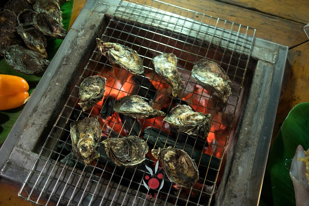 最奢華的中秋烤肉組 海鮮大集合之 龍膽石斑、泰國蝦、蚵、大卷 |小農聯盟11
