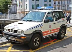 Protección Civil Valdés (emergenciases) Tags: emergencias españa 112 proteccióncivil pc asturias valdés luarca vehículo coche todoterreno nissan patrol 4x4