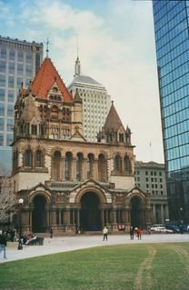 Boston Massachusetts  - Trinity Church - Copley Square