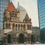 Boston Massachusetts  - Trinity Church - Copley Square thumbnail