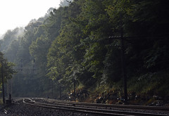 """Morning Shine"" (Tristan_Miller) Tags: norfolk southern thomas wye morning big rock virginia"