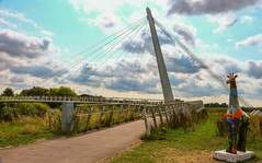 Something You Don't expect. (WorcesterBarry) Tags: candid city colour sky places photographers paths bridge statues clouds travel adventure architecture art england worcester