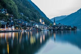 Village of Hallstatt, Austria.