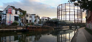 Regents Canal on a Peaceful Evening
