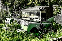 Rusting Land Rovers - Aberdeen Scotland - 12/9/18 (DanoAberdeen) Tags: landrover aberdeen autumn amateur abz aberdeencity abandoned weathered scrap scrapped crusty rusty rusting automobile motor museum ancient danoaberdeen danophotography 2018 1960 60s sixties neglect neglected vintage classic unloved forgotten divorced alone candid old retired seperated goodbye regret cry sorrow uk gb british rip death junk