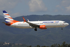 Smart Wings B737-86J C-GOWG GRO 15/08/2018 (jordi757) Tags: airplanes avions nikon d300 gro lege girona costabrava boeing 737 boeing737 b737 b737800 smartwings cgowg